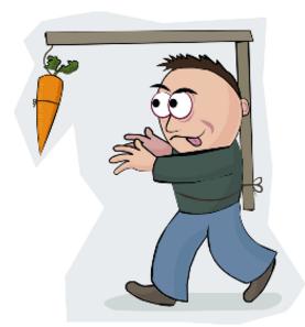 dangling-carrot