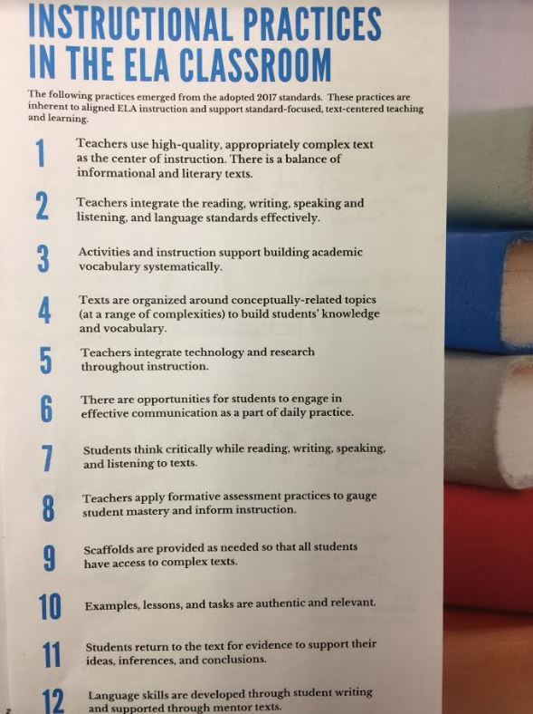 Ncdpis 12 Instructional Practices For The Ela Classroom From This